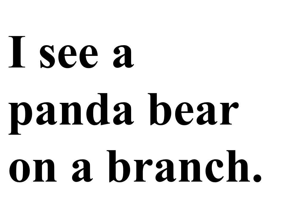 I see a panda bear on a branch.