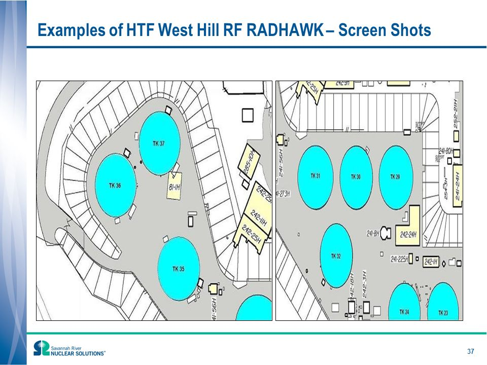 37 Examples of HTF West Hill RF RADHAWK – Screen Shots