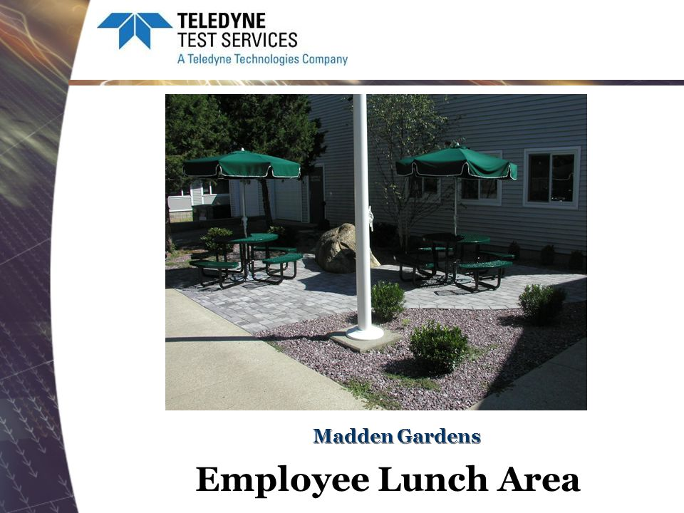 Madden Gardens Employee Lunch Area