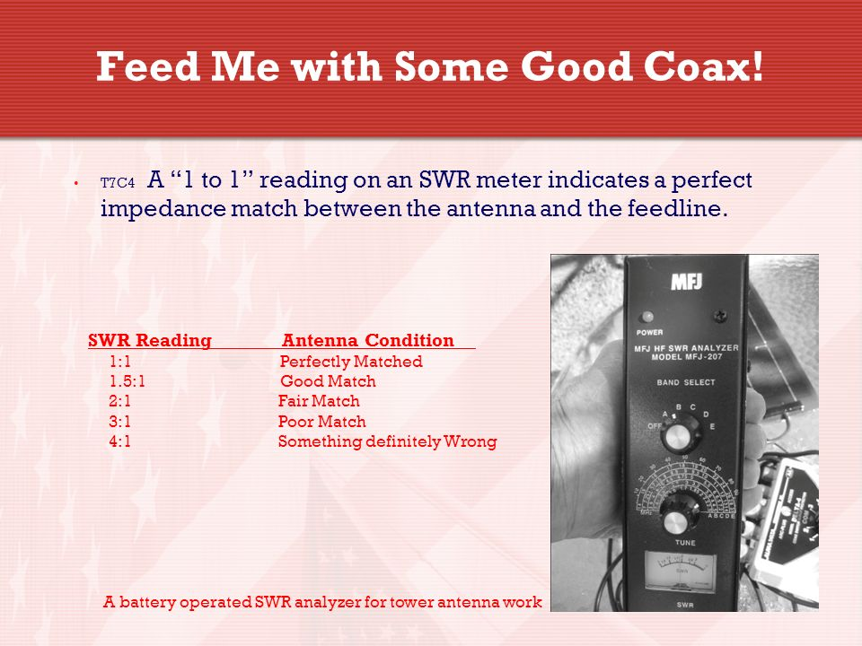 11 Feed Me with Some Good Coax.