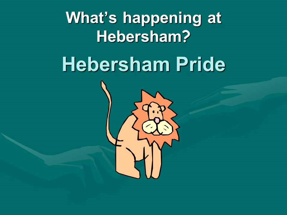 Whats happening at Hebersham Hebersham Pride