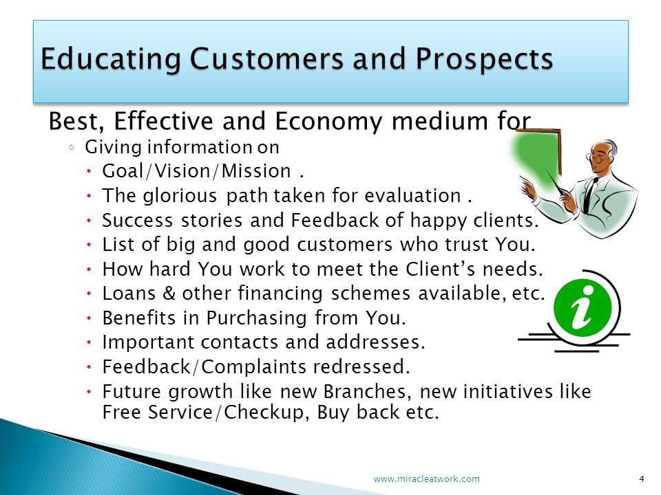 Best, Effective and Economy medium for Giving information on Goal/Vision/Mission.