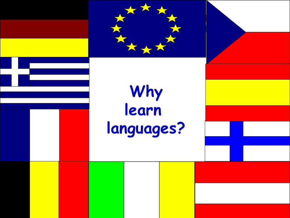 Why learn languages