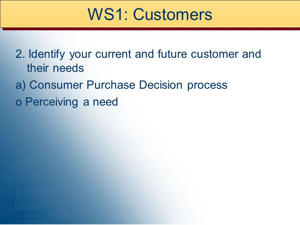 WS1: Customers 2.