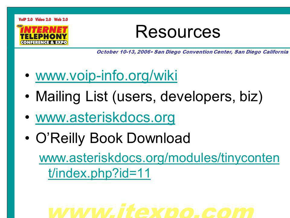 October 10-13, 2006 San Diego Convention Center, San Diego California Resources   Mailing List (users, developers, biz)   OReilly Book Download   t/index.php id=11