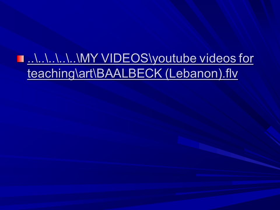 ..\..\..\..\..\MY VIDEOS\youtube videos for teaching\art\BAALBECK (Lebanon).flv..\..\..\..\..\MY VIDEOS\youtube videos for teaching\art\BAALBECK (Lebanon).flv