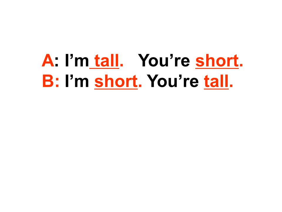 long short ____ tail ___ _ hair ( ) ____hair ( ) nose ____ ears ____ arms _____ arms long short