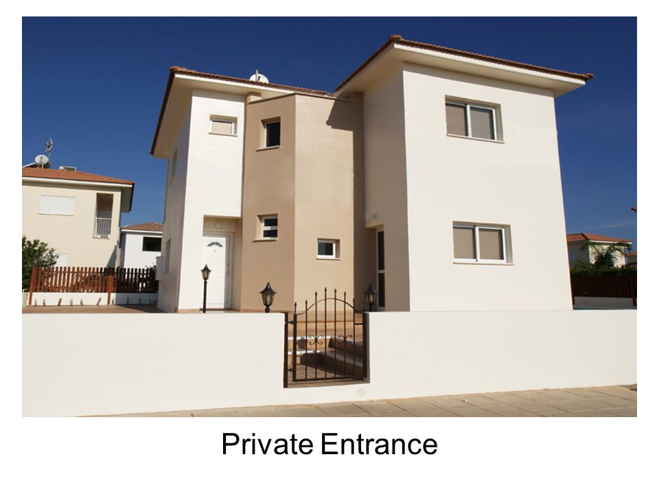 Private Entrance