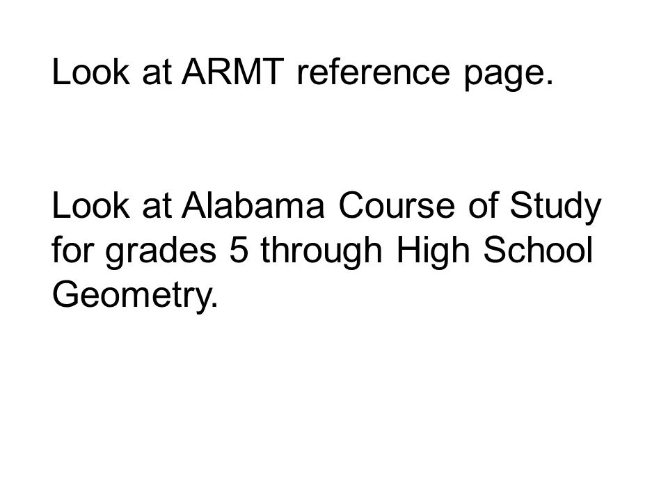 Look at ARMT reference page.
