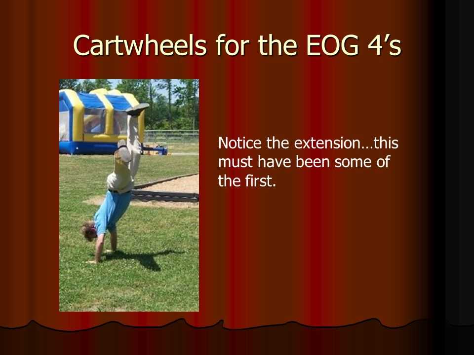 Cartwheels for the EOG 4s Notice the extension…this must have been some of the first.