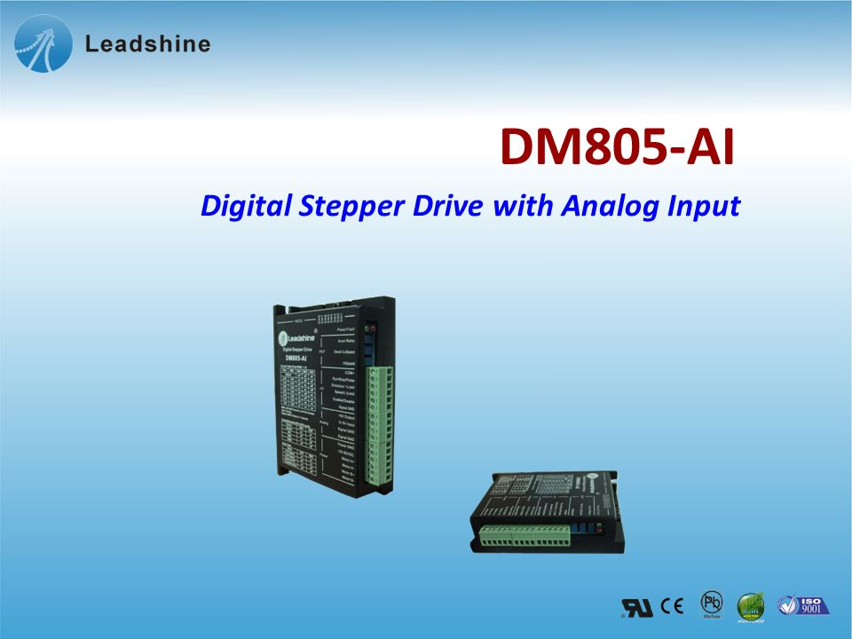 Digital Stepper Drive with Analog Input DM805-AI
