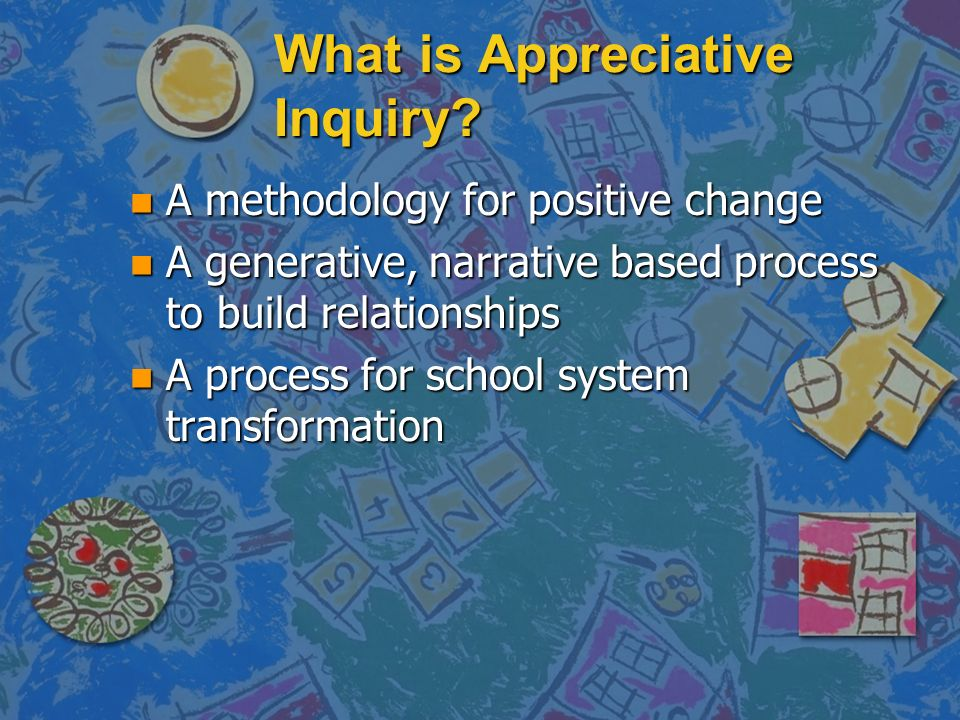 What is Appreciative Inquiry.
