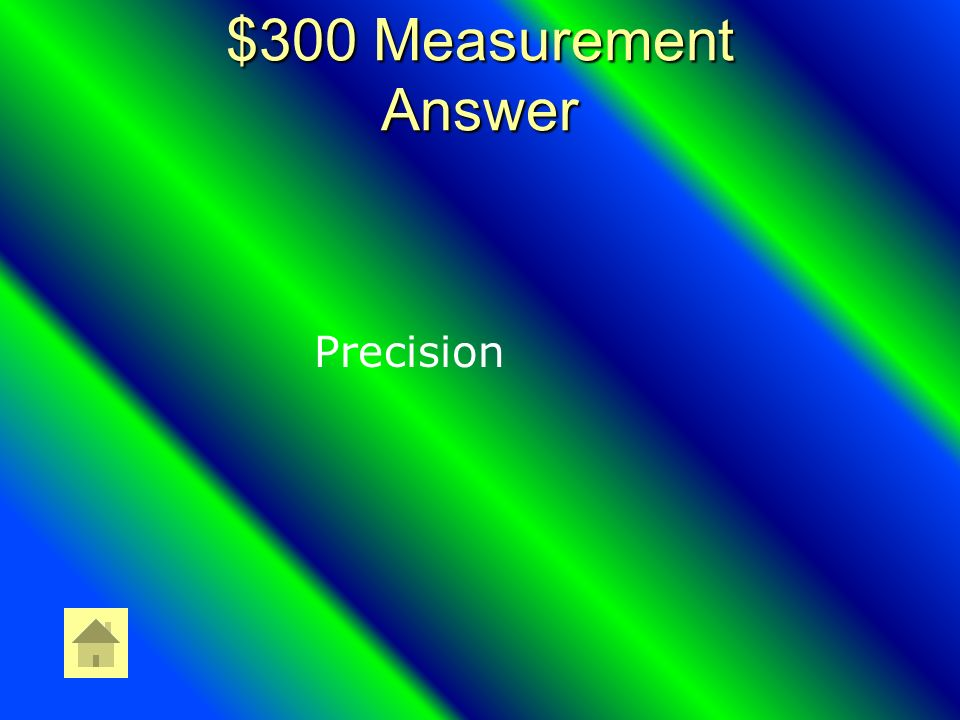 $300 Measurement Question The Closeness of a Set of Values to Each Other.