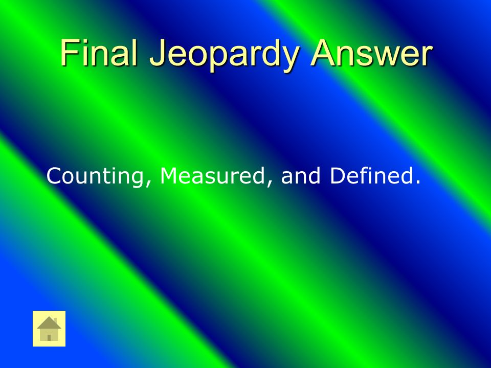 Final Jeopardy What are the three types of numbers in SF
