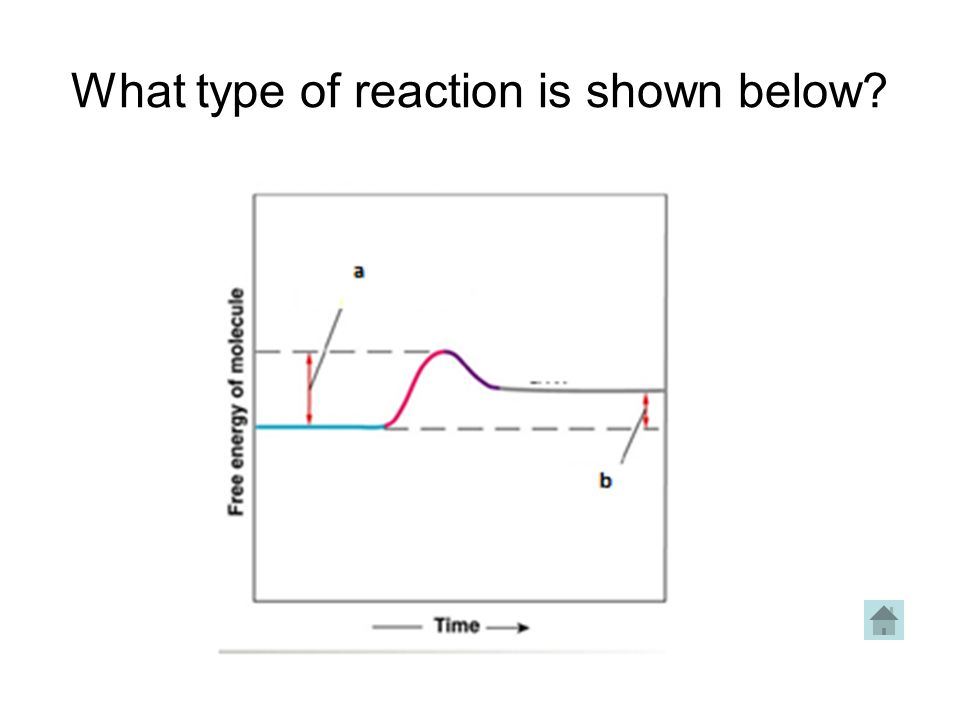 What type of reaction is shown below