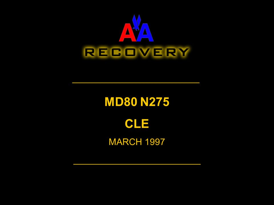 MD80 N275 CLE MARCH 1997