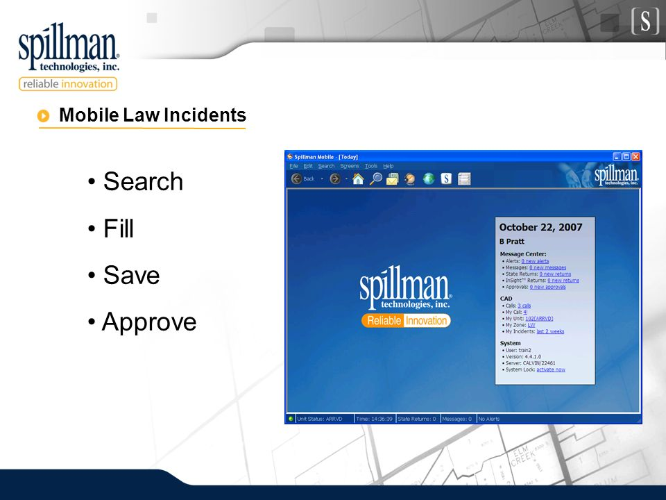 Mobile Law Incidents Search Fill Save Approve