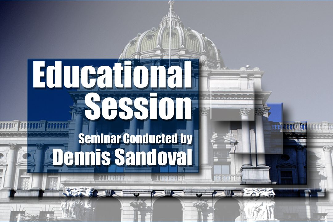 Educational Session Seminar Conducted by Dennis Sandoval