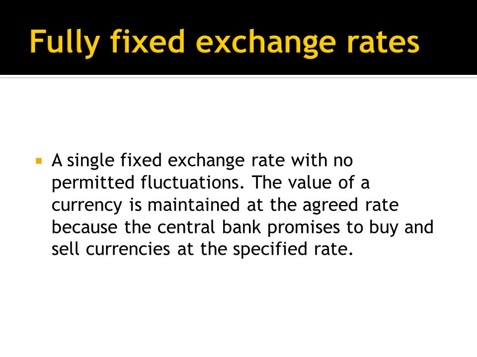 Exchange rate of the £