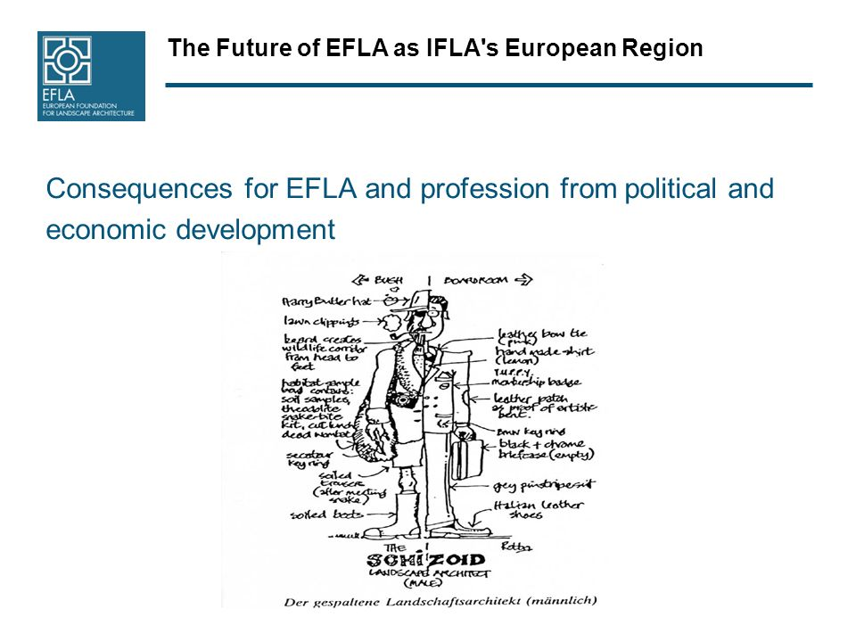 The Future of EFLA as IFLA s European Region Consequences for EFLA and profession from political and economic development