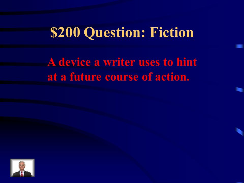 $100 Answer: Fiction What is theme