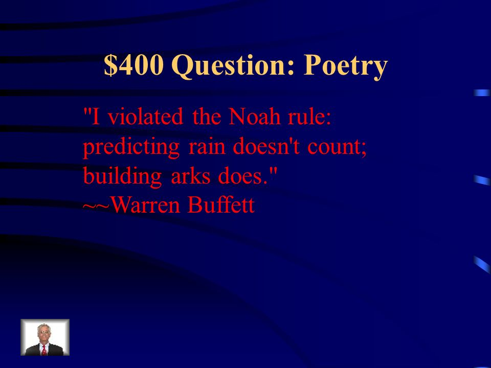 $300 Answer: Poetry What is Figurative Language