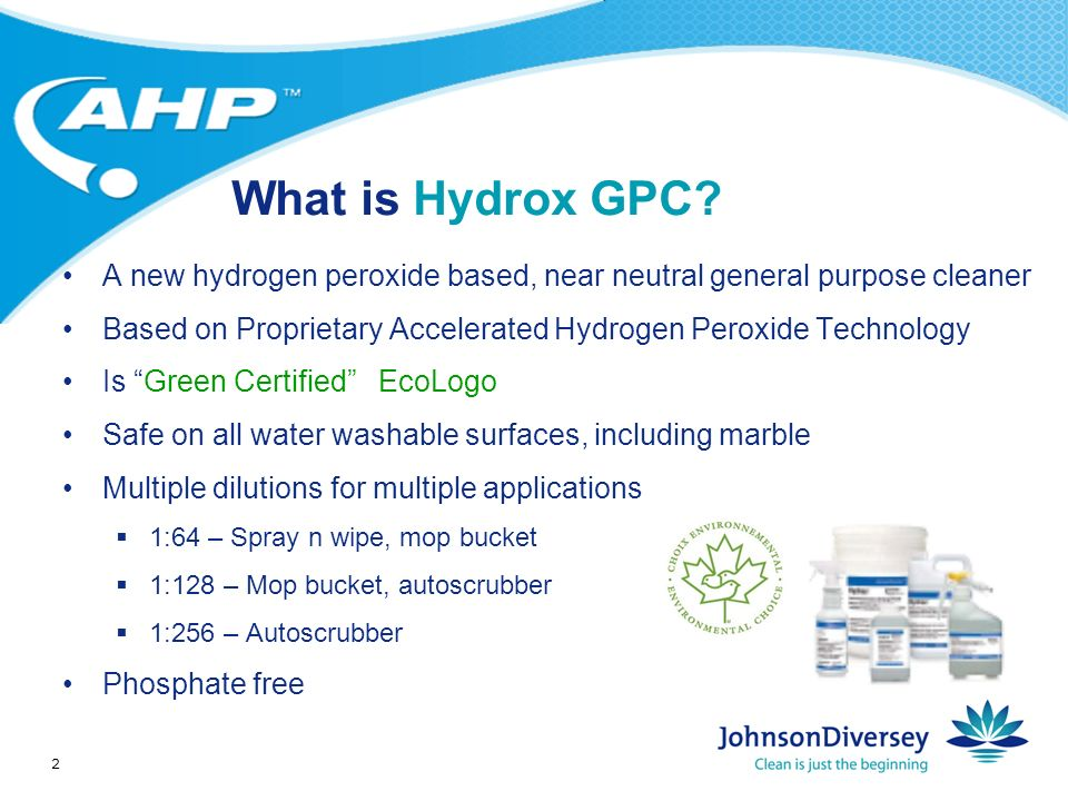 2 What is Hydrox GPC.