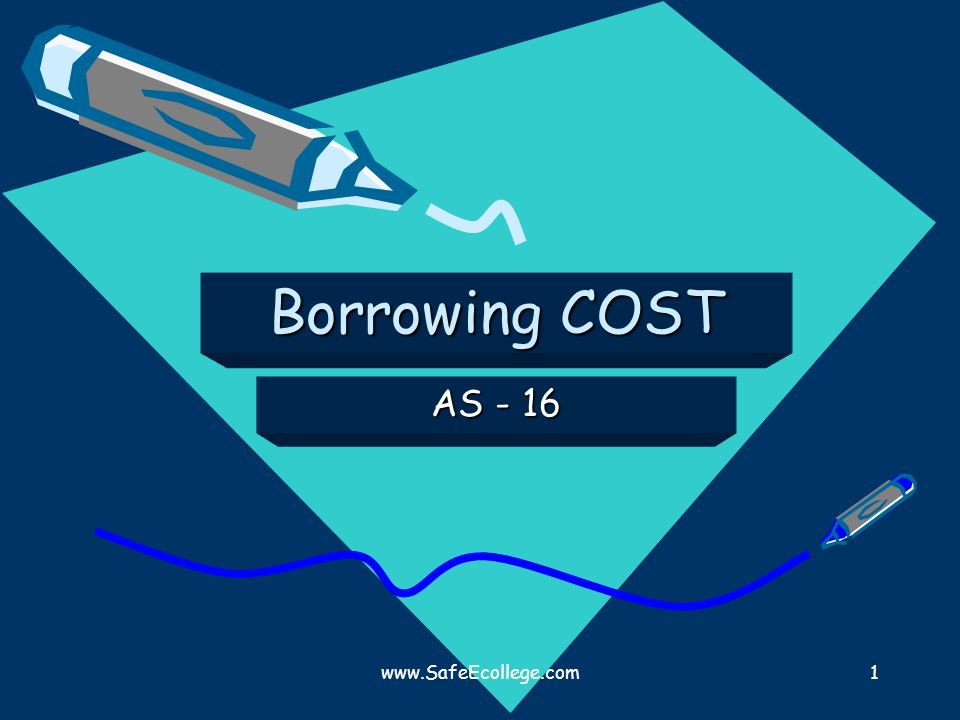 Borrowing COST AS - 16