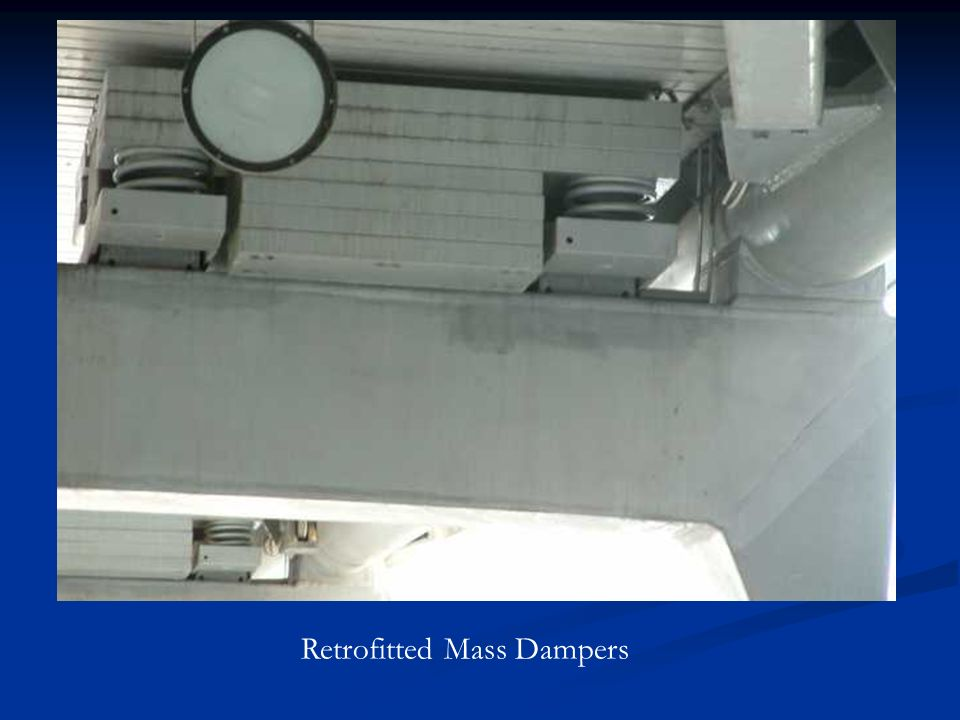 Retrofitted Mass Dampers