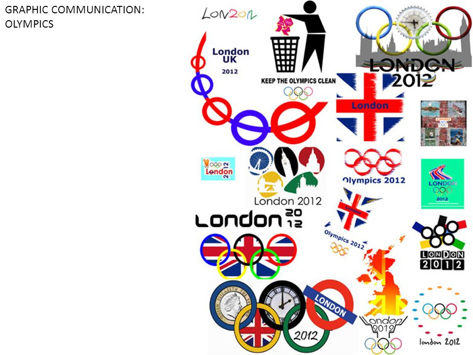 GRAPHIC COMMUNICATION: OLYMPICS