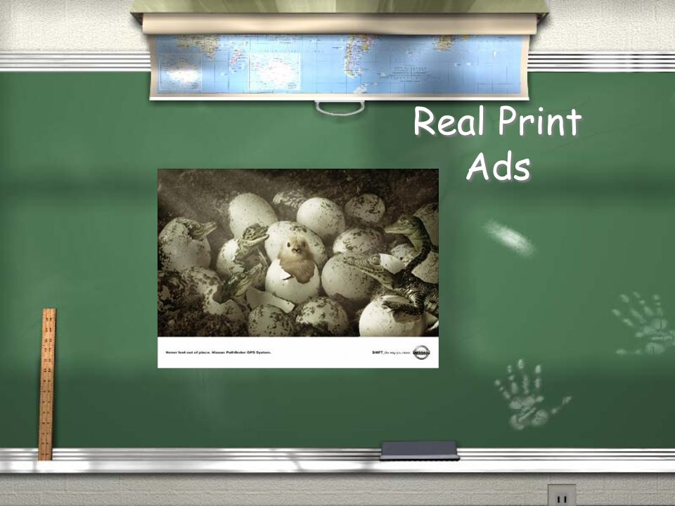 Real Print Ads