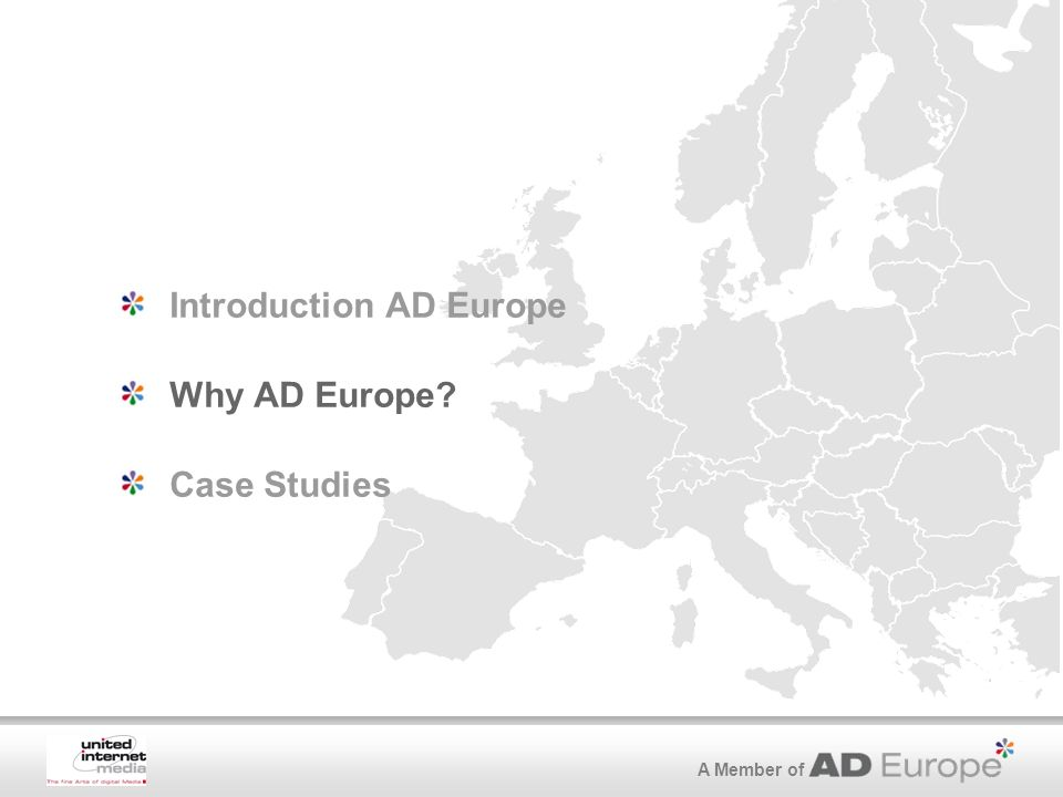 A Member of Introduction AD Europe Why AD Europe Case Studies