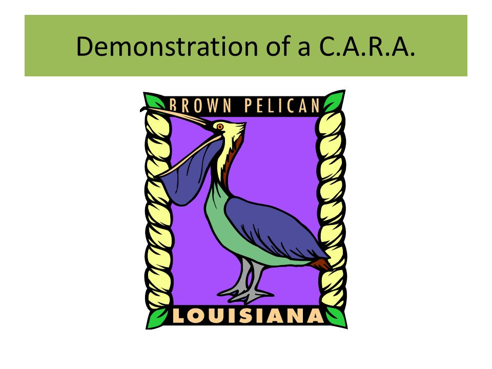 Demonstration of a C.A.R.A.