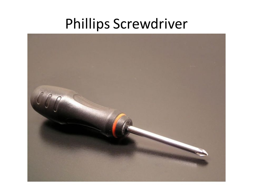 Phillips Screwdriver