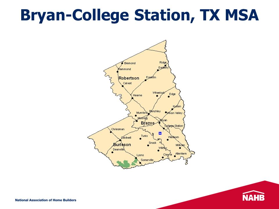 Bryan-College Station, TX MSA