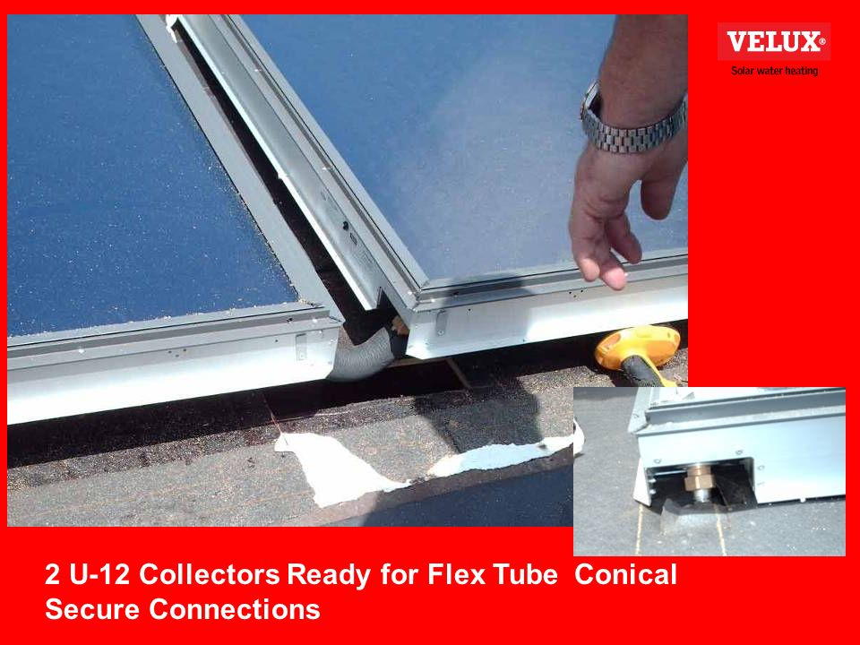 2 U-12 Collectors Ready for Flex Tube Conical Secure Connections