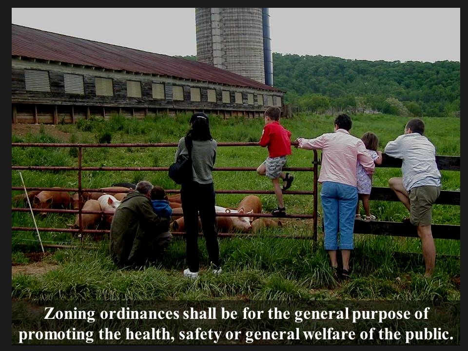 Zoning ordinances shall be for the general purpose of promoting the health, safety or general welfare of the public.