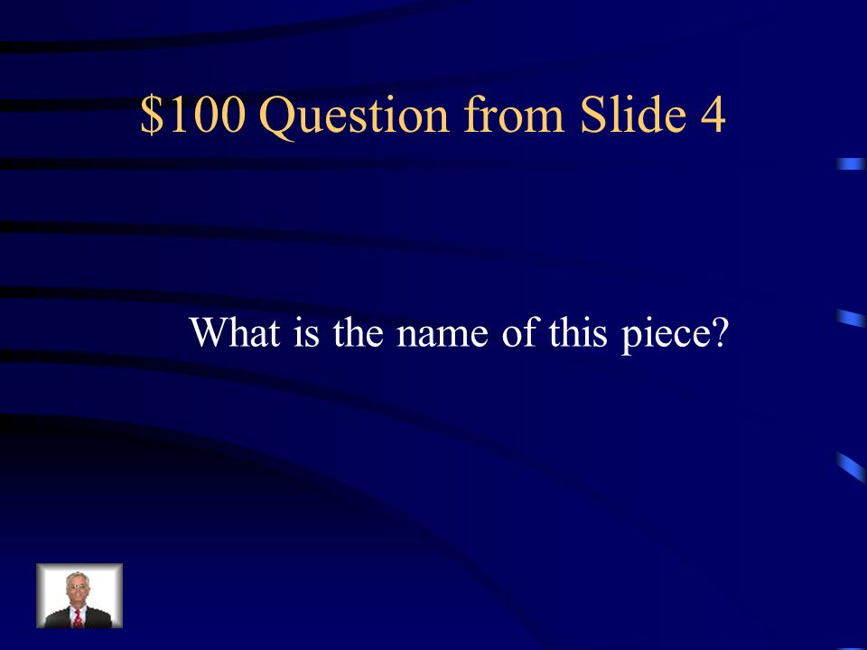 $600 Answer from Slide 3 God- The hand reaching down Holy Spirit- Dove Abbot Wedricus- shown giving St.