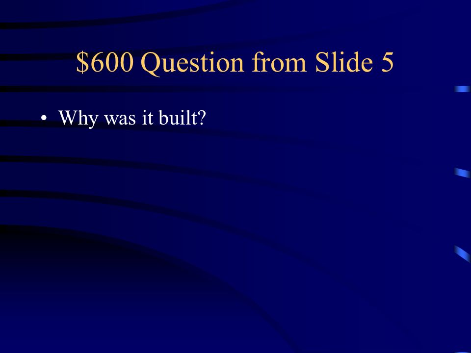 $500 Answer from Slide 5 Giotto