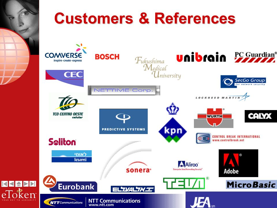 21 Customers & References