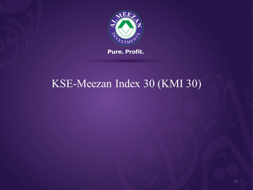 KSE-Meezan Index 30 (KMI 30) 21