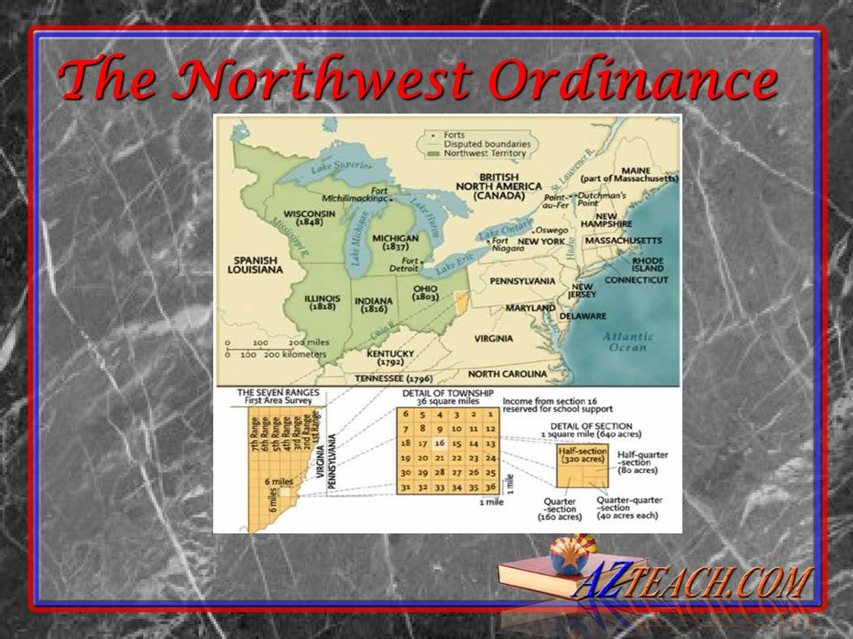 The Northwest Ordinance The Northwest Ordinance