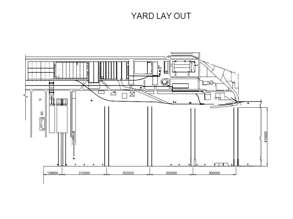 YARD LAY OUT