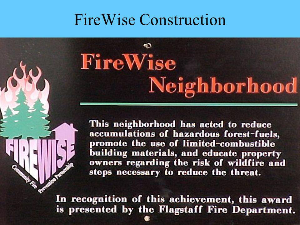 FireWise Construction
