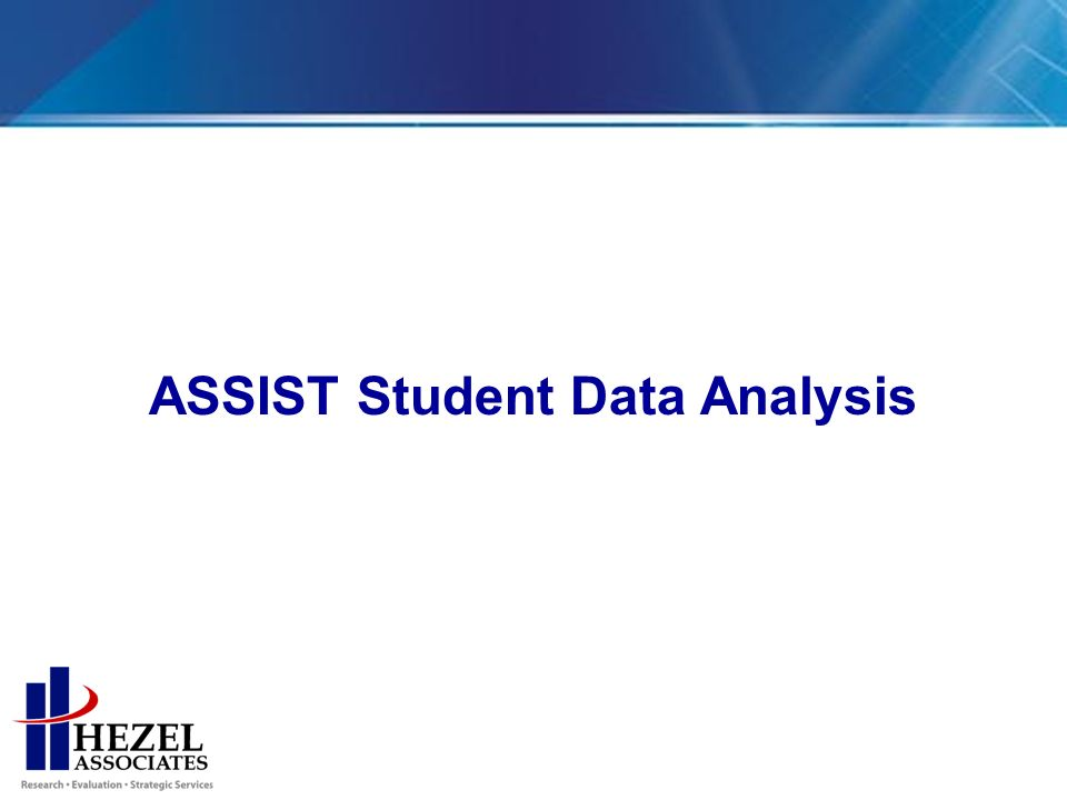 ASSIST Student Data Analysis