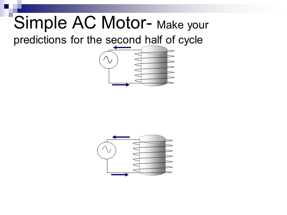 Simple AC Motor- Make your predictions for the second half of cycle
