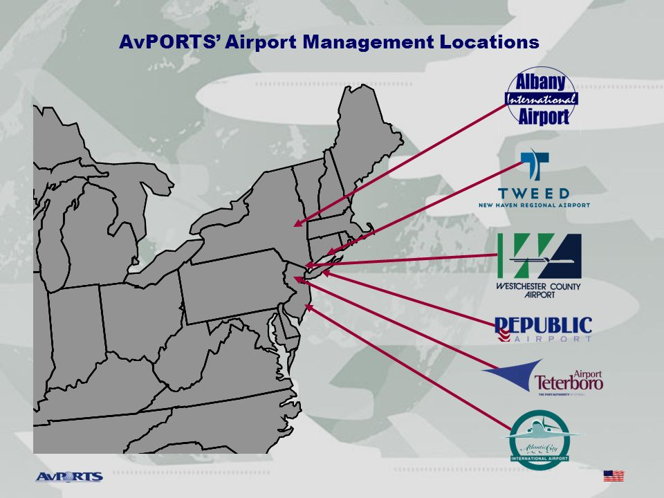 AvPORTS Airport Management Locations