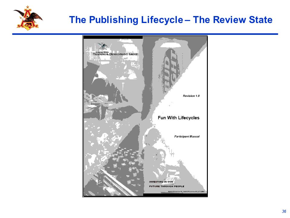 36 The Publishing Lifecycle – The Review State