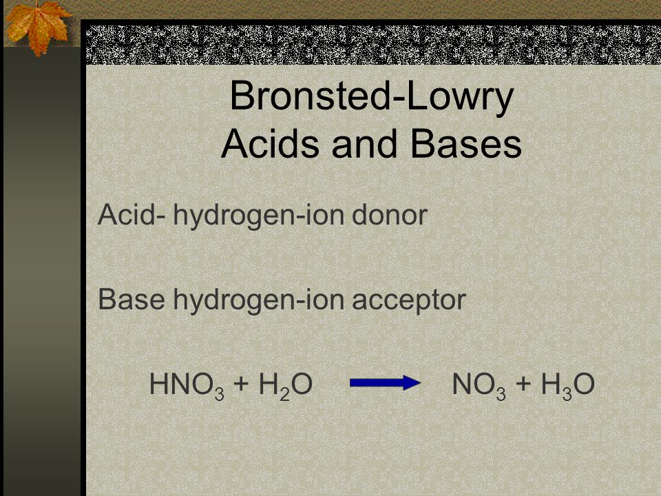 Arrhenius Acids and Bases Acid- compounds containing hydrogen that ionize to yield H+ ions in aqueous solutions.