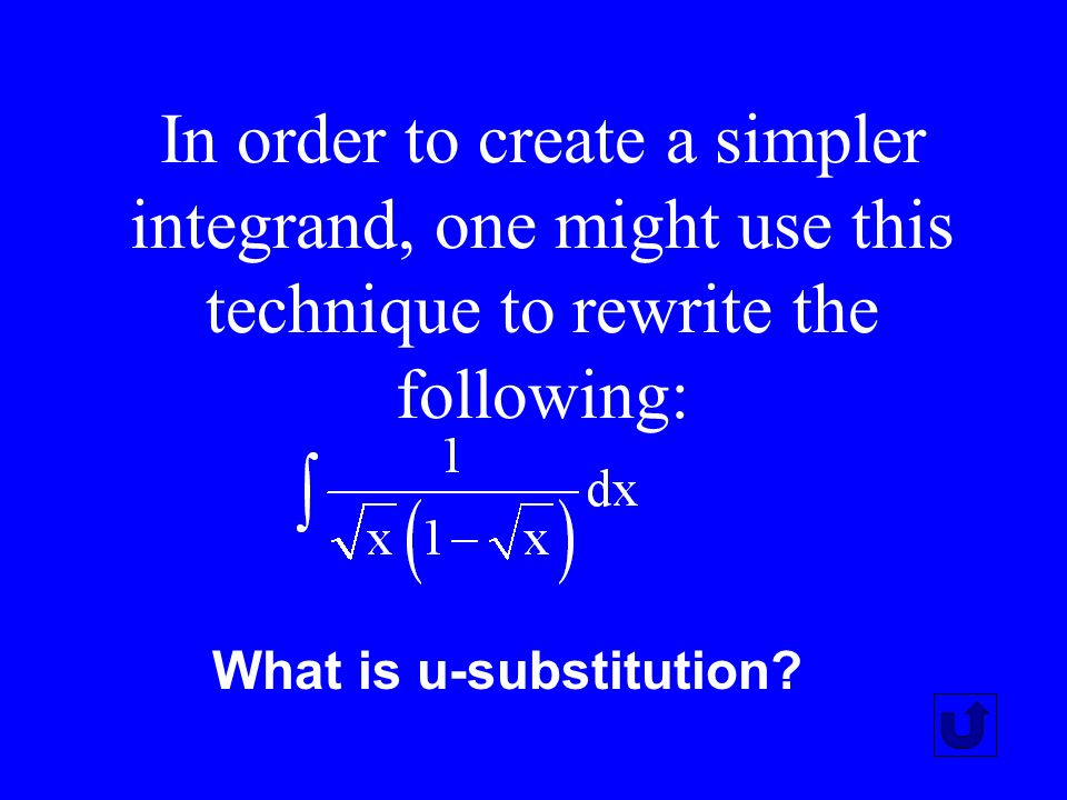 This technique generates the formula for exponential growth and is used to solve some differential equations.